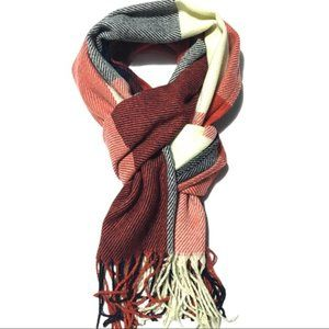 Accessories - Reversible NWOT Checkered Scarf / Shawl / Wrap